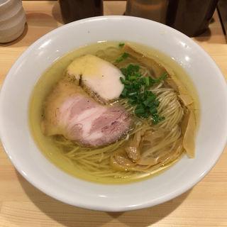 塩そば(自家製麺 竜葵)