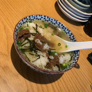 牛タンの佃煮茶漬け(さんじ)