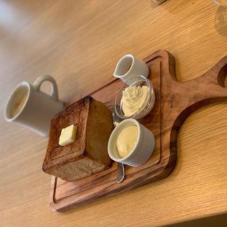 極美ハニートースト プレーン(嵜本ベーカリーカフェ)