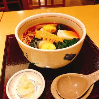 五目蕎麦(永坂更科 布屋太兵衛 札幌大丸店)