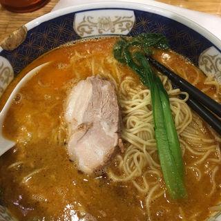 太肉担担麺(支那麺 はしご本店)