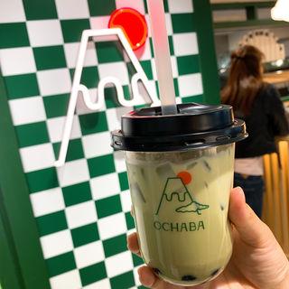 緑茶ロイヤルミルクティー(日本茶ミルクティー専門店OCHABA)