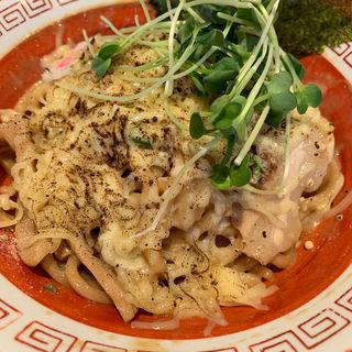 炙りチーズ油そば(武蔵野アブラ学会 吉祥寺店)