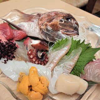 名物 魚市造り盛り