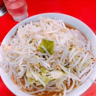 小ラーメン 野菜にんにくアブラ(ラーメン二郎 松戸駅前店 (らーめんじろう))