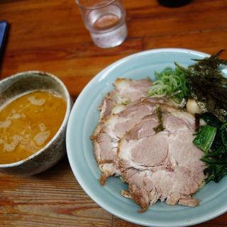 ちゃーしゅうつけ麺(入船食堂)