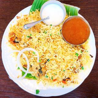 ハイデラバード ダム ビリヤニ(通常は土曜ディナー限定メニュー)(アーンドラ・ダイニング 銀座 (Andhra Dining GINZA))