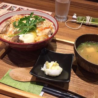 ◆ほんとに美味しい親子丼の御膳(健美宴 サンキューバシ)