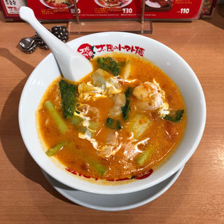 エビクリームトマト麺(太陽のトマト麺 なんば御堂筋グランドビル支店)
