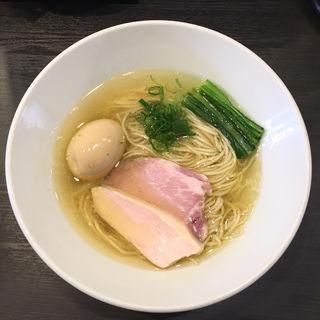 芳醇鶏そば・塩(麺や福はら)