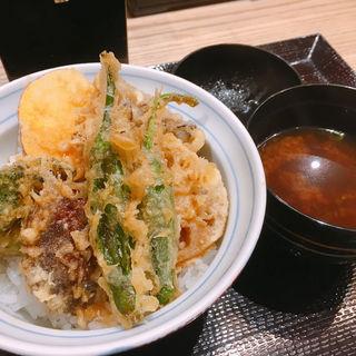 野菜天丼(天丼・らぁ麺 ハゲ天)