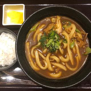 黒カレーうどん(カレーうどん専門店 千吉 栄店)