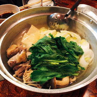 若鶏のスープ炊き(一富 )