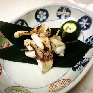 いかげそ焼き 塩(江戸前鮨 なか田 (えどまえずし なかた))