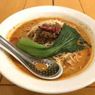 冷やしタンタン麺(中国ラーメン揚州商人新宿歌舞伎町店)