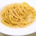 新鮮なうにのスパゲティ