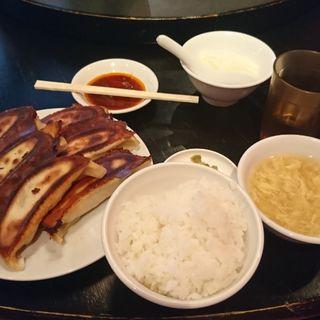 焼餃子6個  ランチセット(泰興楼 八重洲本店 (タイコウロウ))