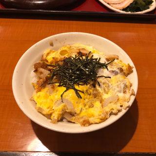 ミニ玉子丼(山田うどん 小平仲町店 )