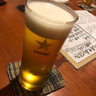 サッポロビール 黒ラベル生(吉乃坐 (地のもの酒場 吉乃坐))