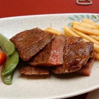 米沢牛ステーキ(100g)(湯滝の宿 西屋 )