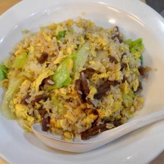 牛肉レタスチャーハン(食いしん房 )