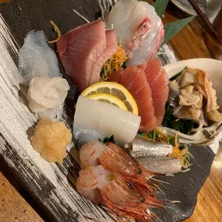 おまかせ六点盛り(4番サード魚真)