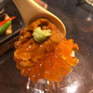 ウニといくらのカクテル(たつみ寿司 総本店 (タツミズシ))