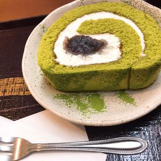 抹茶ロールケーキ(宇治園 心斎橋本店 )