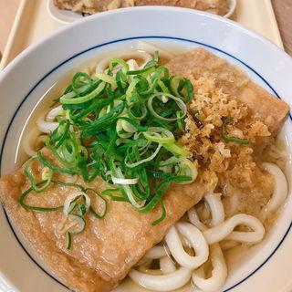 きつねうどん(鶴丸饂飩本舗 天三店 (【旧店名】鶴丸製麺))