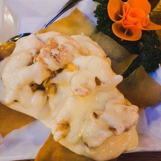エビのマヨネーズ風味炒め(中国茶房8 恵比寿店 (チャイニーズカフェ・エイト))