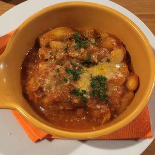 トリッパのトマト煮込み(ワイン食堂 Kirakuni)