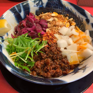 担担(ノーマル)+温玉(スパイス担担麺専門店 香辛薬麺)