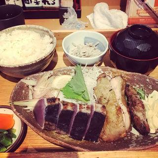 カツオタタキ定食(土佐清水ワールド 三宮磯上通店 )