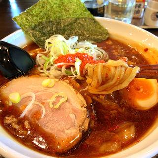 旨辛うま煮醤油ラーメン(うま煮ラーメン 醤 船橋新高根店)