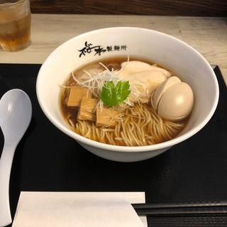 鶏醤油中華そば(桜木製麺所 )