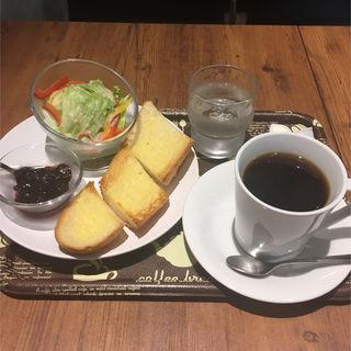 ブレンド+プレーントースト(シャンズカフェ (SHANGS CAFE'))