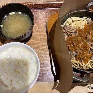 ビーフバター焼きセット(天神ビービー・キュイジーヌ)