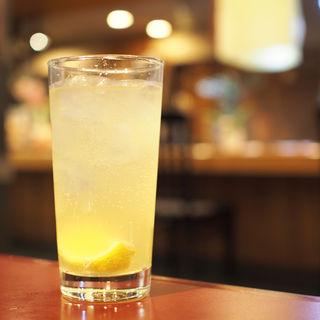 雪塩入り豊中産レモンサワー