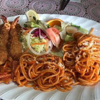 スパゲッティセット(一番館 )