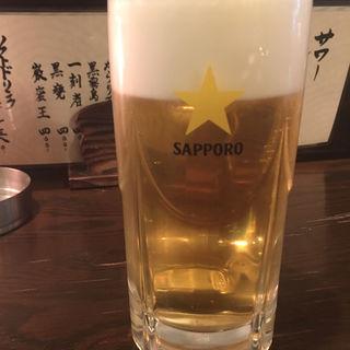 生ビール(まねき屋 南2条店)