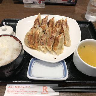 ぎょうざ定食(リンガーハット 銀座店)
