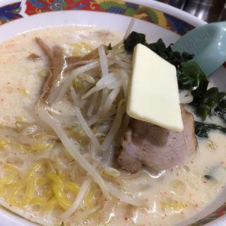 味噌牛乳ラーメン(味の札幌 浅利 )
