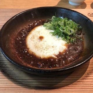 もちもちマーボー豆腐(博多炊き餃子 池ぽん)