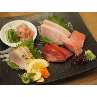 魚輝まぐろ五種盛り(魚輝水産 豊中庄内店)