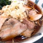 肉そば(狭山そば 西新宿五丁目店 )