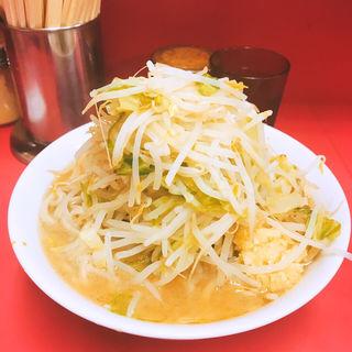小ラーメン(豚4枚)麺少なめ野菜にんにくコール(ラーメン二郎 ひばりヶ丘駅前店 (らーめんじろう))