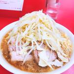 小ラーメン 麺少なめ野菜にんにくコール(ラーメン二郎 神田神保町店)