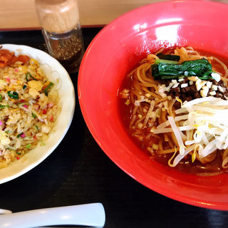 汁無し坦々麺(たんめん屋 安武店)