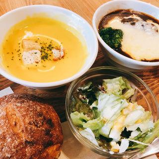 ダブルセット(ベリー ベリー スープ アパホテル浅草橋店 (very berry soup))