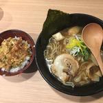 魚介醤油ラーメン(ラーメン 岩将)